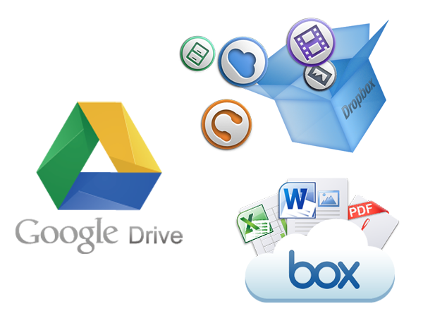 Asustor NAS 華芸 Dropbox / Box / Google Drive