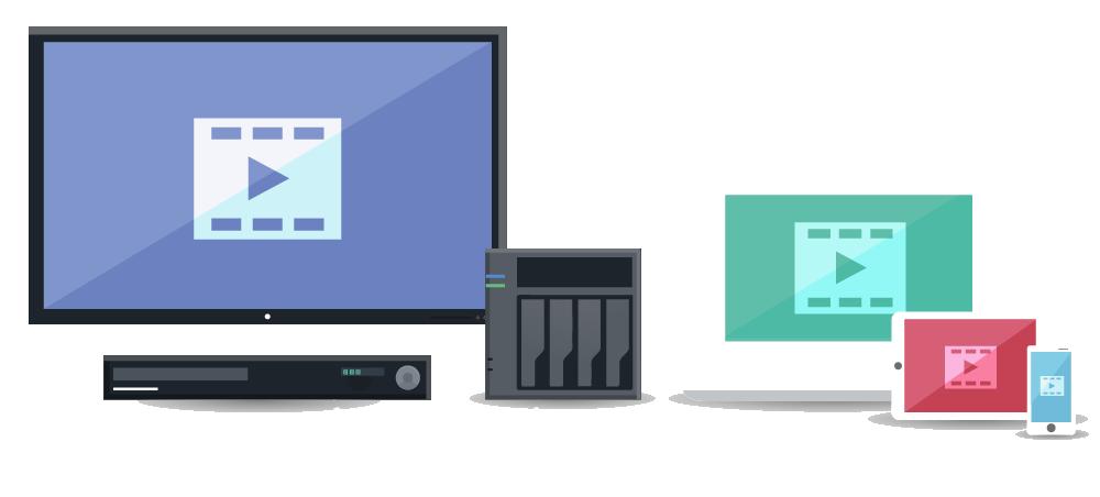 Asustor NAS 華芸 DTCP-IPによって保護された録画済みのデジタルテレビコンテンツをNASへムーブする