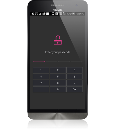 Asustor NAS 華芸 Enhanced Mobile Privacy Protection