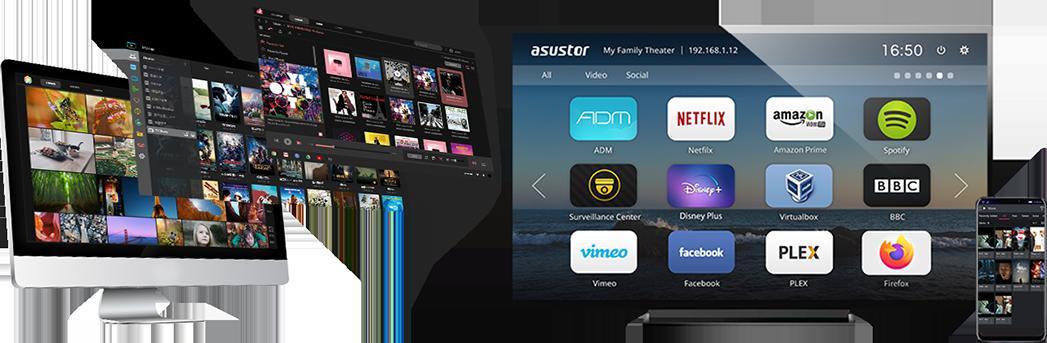 Asustor NAS 華芸 讓數位生活更多彩