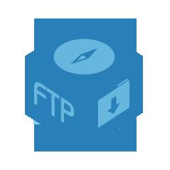 FTP Explorer: Connessione ad altro NAS o a indirizzi FTP tramite ADM per il trasferimento di file. Supportato il ripristino del download