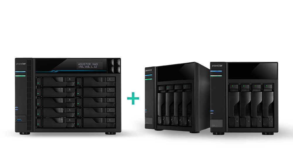 Ten Bay with M.2 SSD  Cache flexible storage