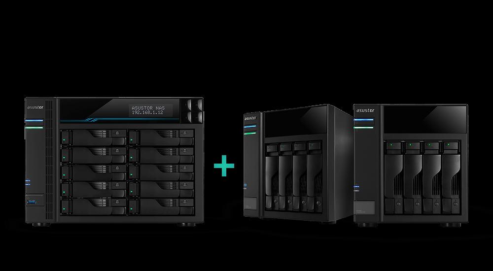大上加大,10 Bay 與 M.2 SSD cache 的儲存空間靈活運用