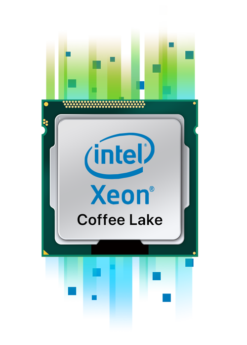 Processeur Quad-Core Intel Xeon E-2240
