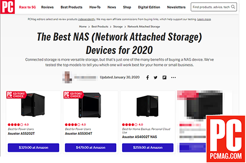 """The Best NAS (Network Attached Storage) Dispositivi per il 2019 e 2020"""