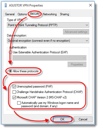 Using Your NAS as a VPN Server - ASUSTOR NAS
