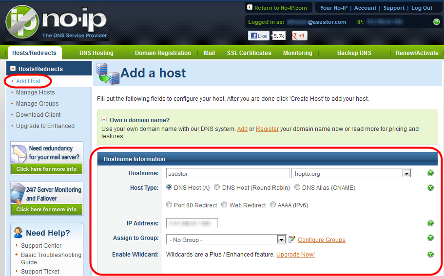 Hosting Multiple Websites with a Virtual Host - ASUSTOR NAS
