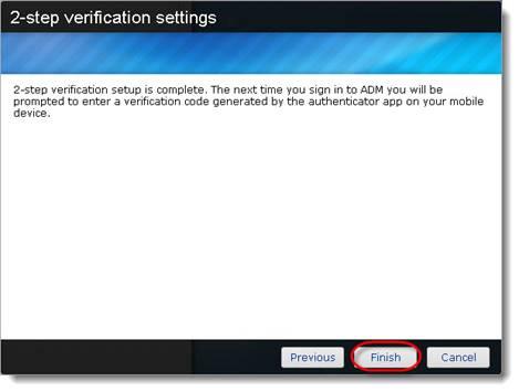 How do I set up 2-step verification on my ASUSTOR NAS