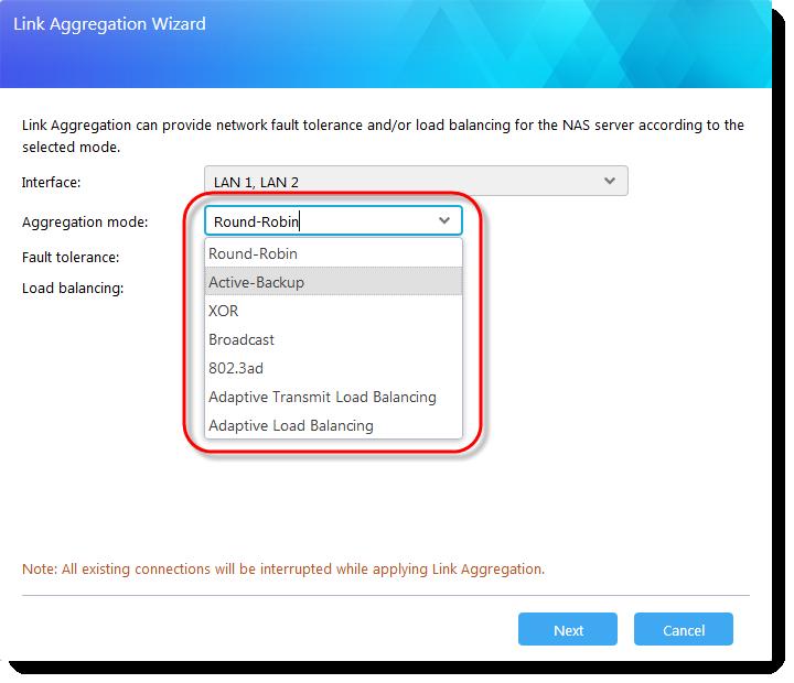 Networking: Link Aggregation - ASUSTOR NAS