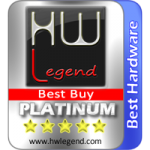 Best Hardware and Platimum Best Buy Award asustor NAS