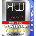 Best Hardware and Platimum Best Buy Award asustor NAS