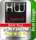 Best Design Platinum Award and Best Buy asustor NAS