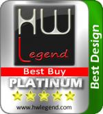 Best Design Platinum Award and Best Buy asustor NAS
