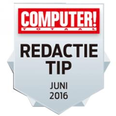 REDACTIE TIP Award, Juni 2016 asustor NAS