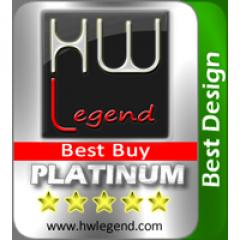 Best Design & Best Buy Award asustor NAS