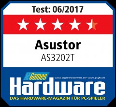 PC Games Hardware Award asustor NAS