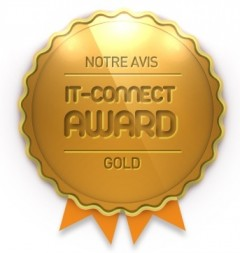 Gold Award décerné à l'AS6302T asustor NAS