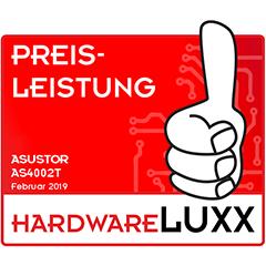 Preis-leistung Thumb Up Award asustor NAS