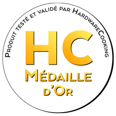 Médaille D'or asustor NAS