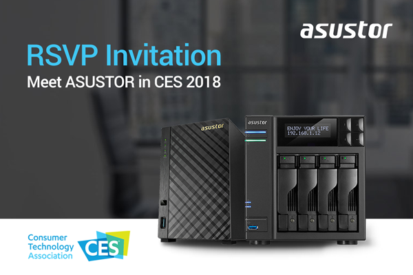 ASUSTOR RSVP Invitation