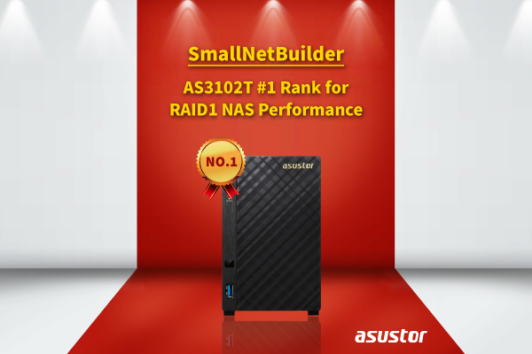AS3102T ranking Top 1 by Smallnetbuilder