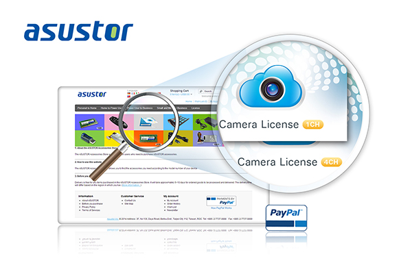 ASUSTOR_Surveillance license