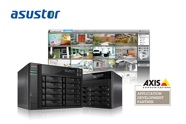 ASUSTOR Officially Joins AXIS's Application Development Partner (ADP) Program