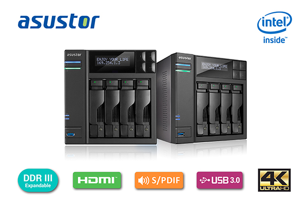 ASUSTOR Adds New AS7004T Tower Model to 70T Series