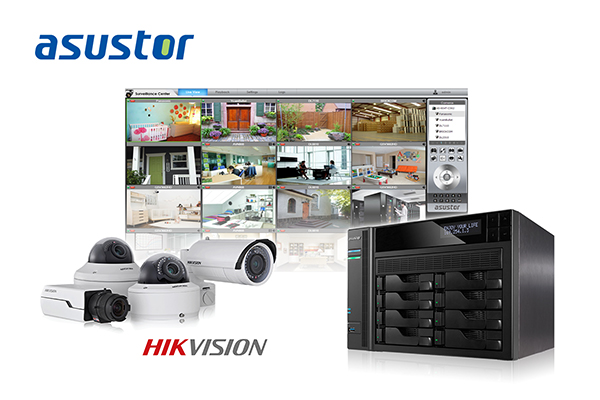 Asustor Adds Compatibility For Hikvision Ip Cameras