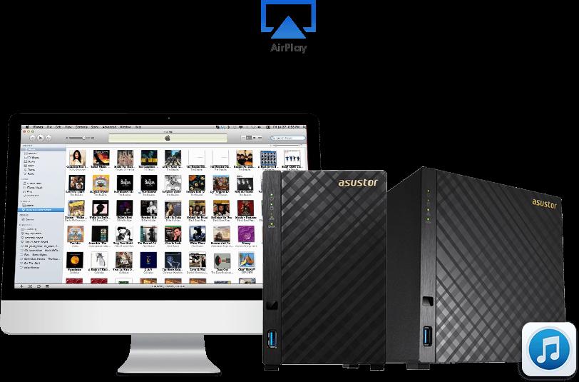 Asustor NAS iTunes Server
