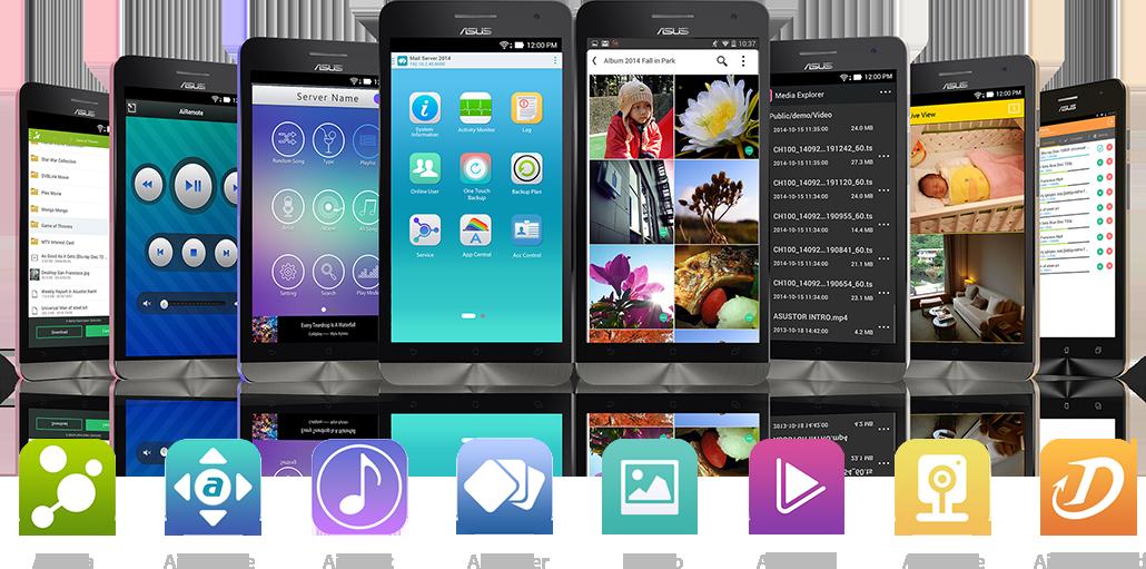 mobile app Asustor