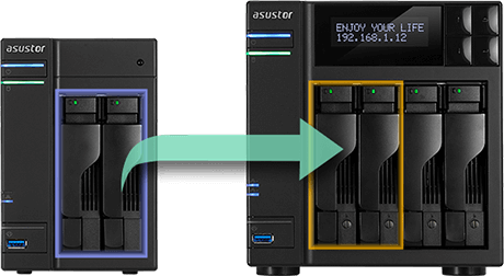 Asustor NAS Simplified Management